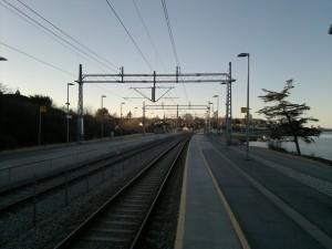 Dobbelsporet og Mariero Stasjon