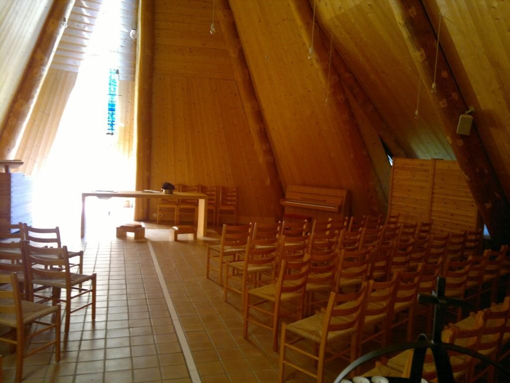 Kapellet i Brekko innendørs