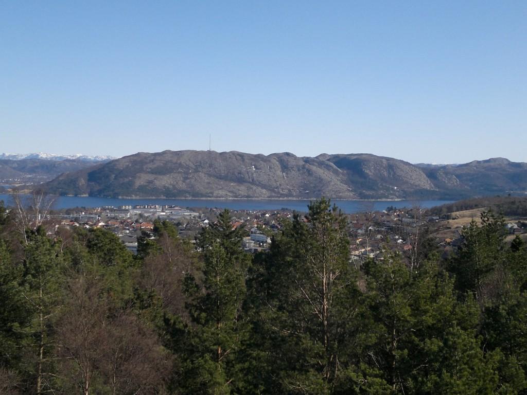 Gandsfjorden og Lifjellsenderen