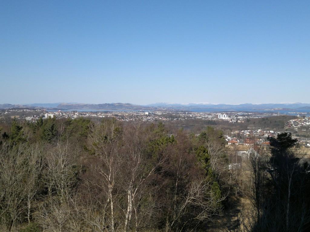 Utsikt fra Ullandhaug