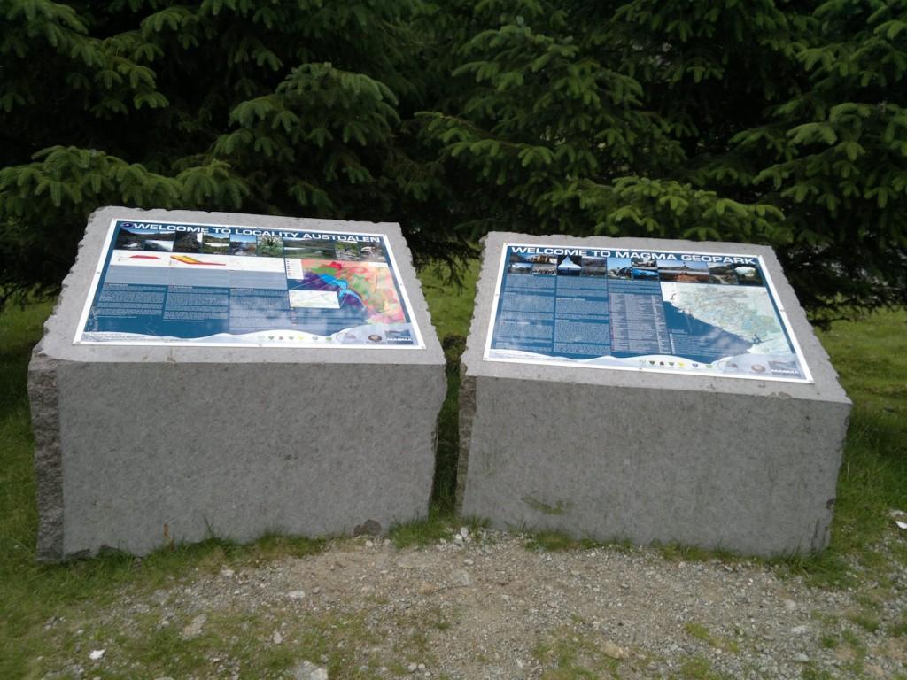 Informative tavler er satt opp