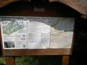 Skiltet i Bjordal