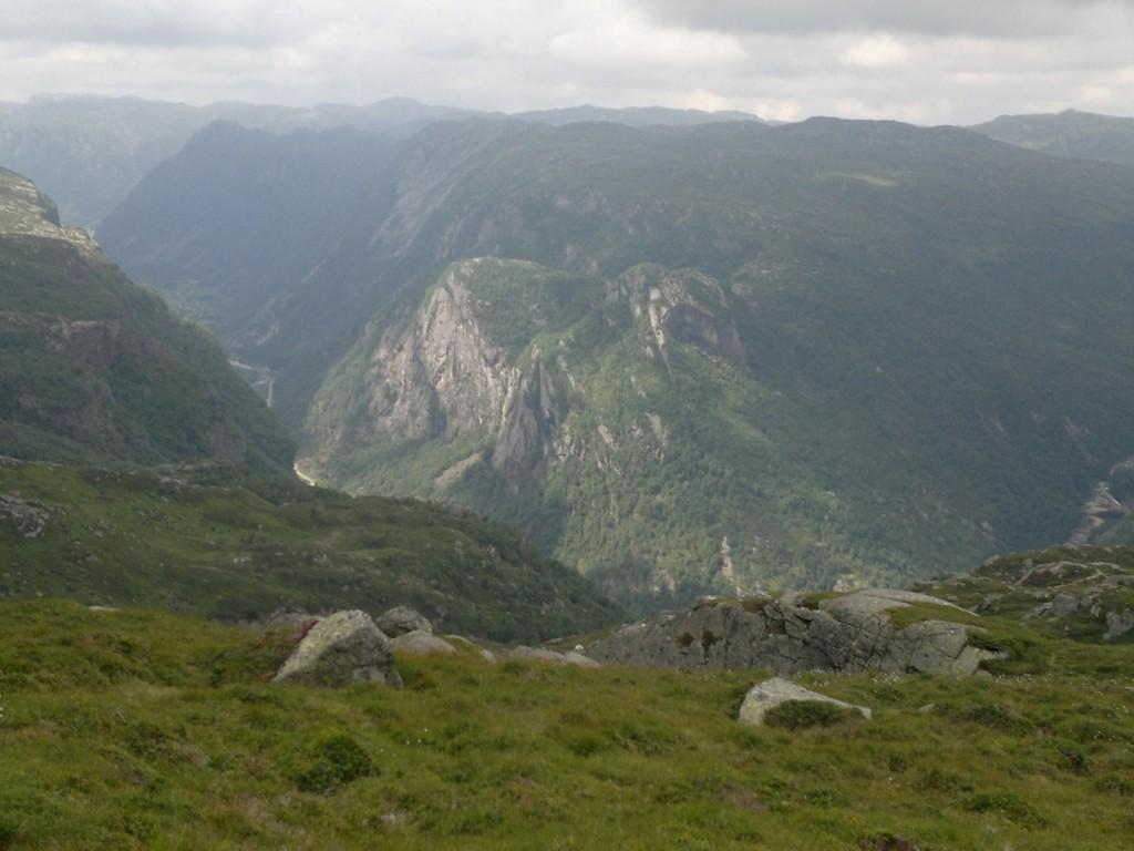 Flott fjellformasjon