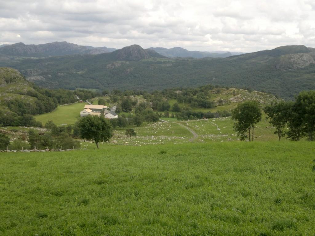 Jordbruksland i starten