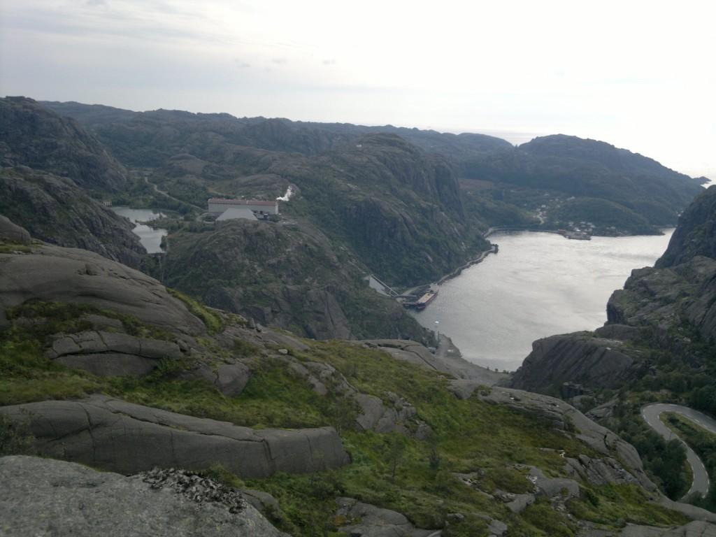 Jøssingfjord og Titanias anlegg