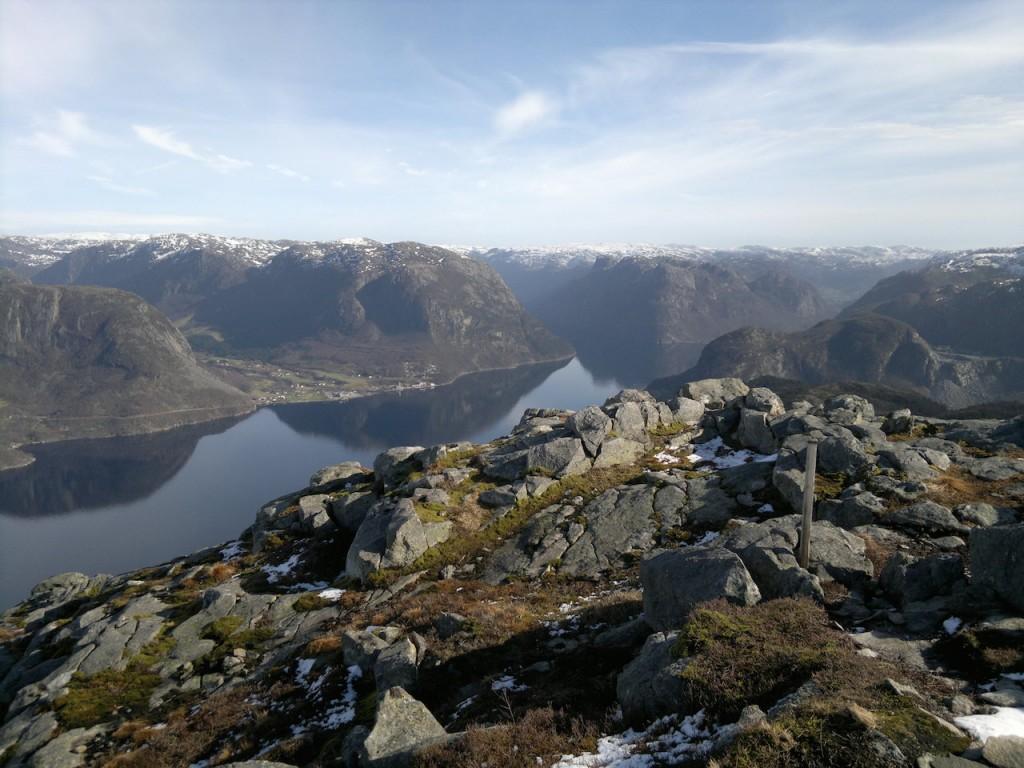 Frafjorden fra Selvikstakken