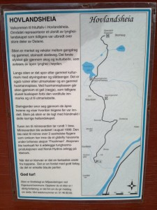 Kart og forklaring