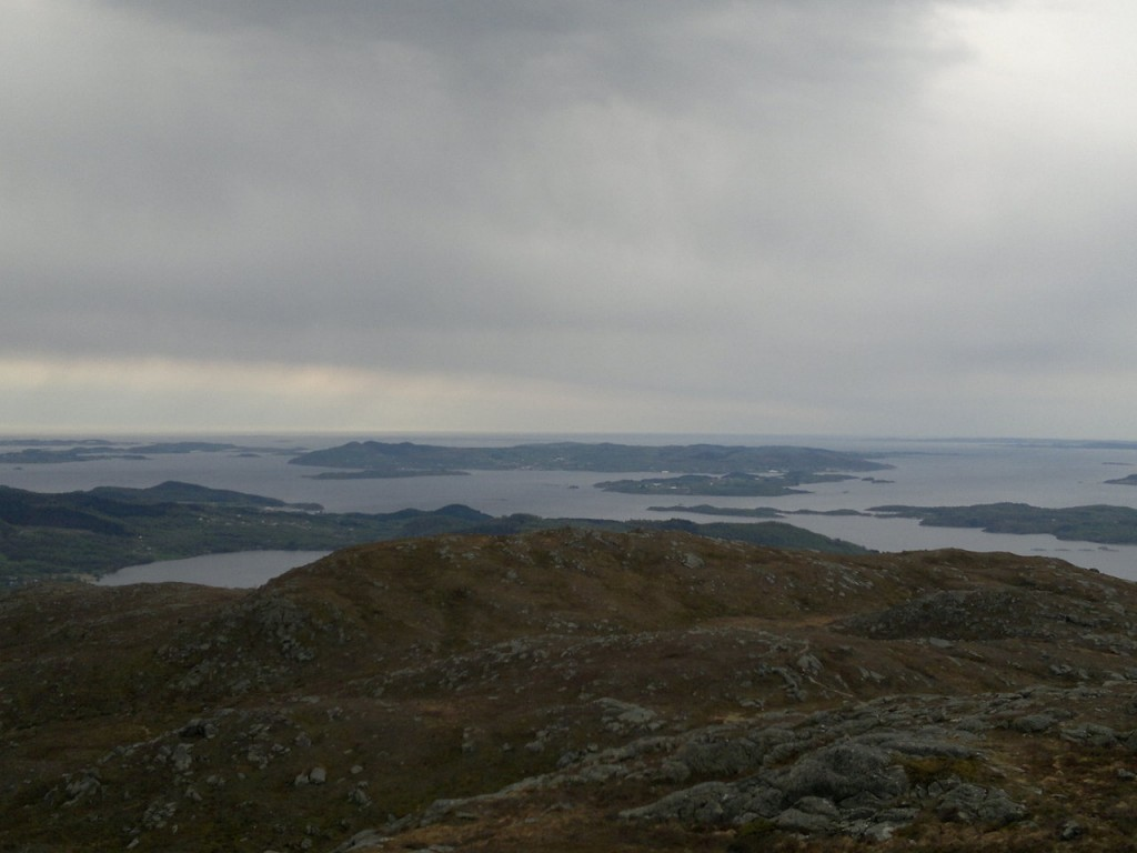 Utsikt fra Ormakammen