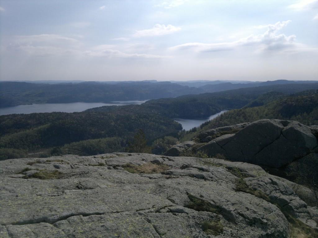 Utsikt fra Gullbergknuten