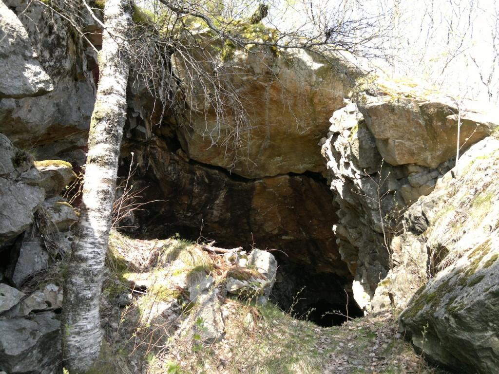 Åpning til noen av gruvene