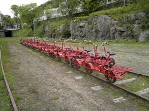 Dresiner på Flekkefjord stasjon