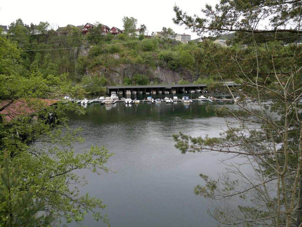 Utsikt fra dresinene langs Flekkefjordbanen