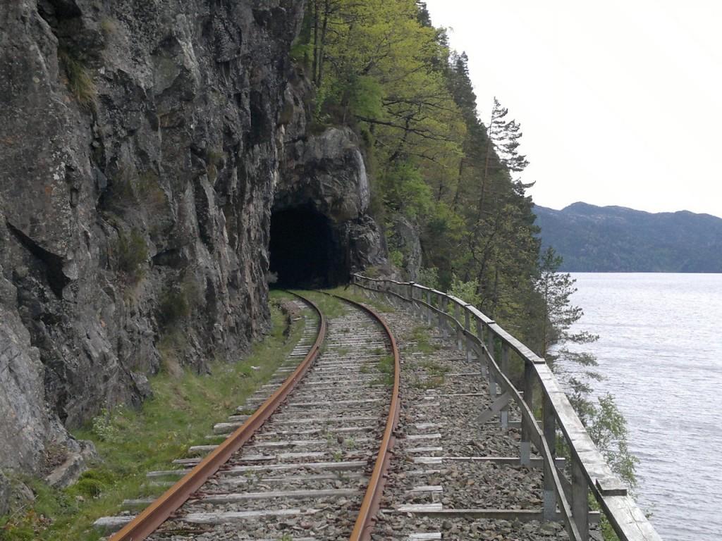 En av mange tunneler