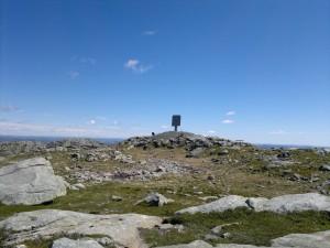 Fra toppen av Store Skykula