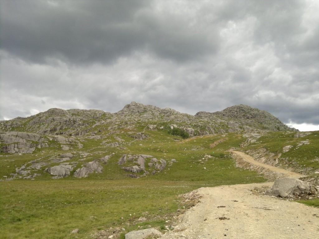 I retning Solbjørgsnibben