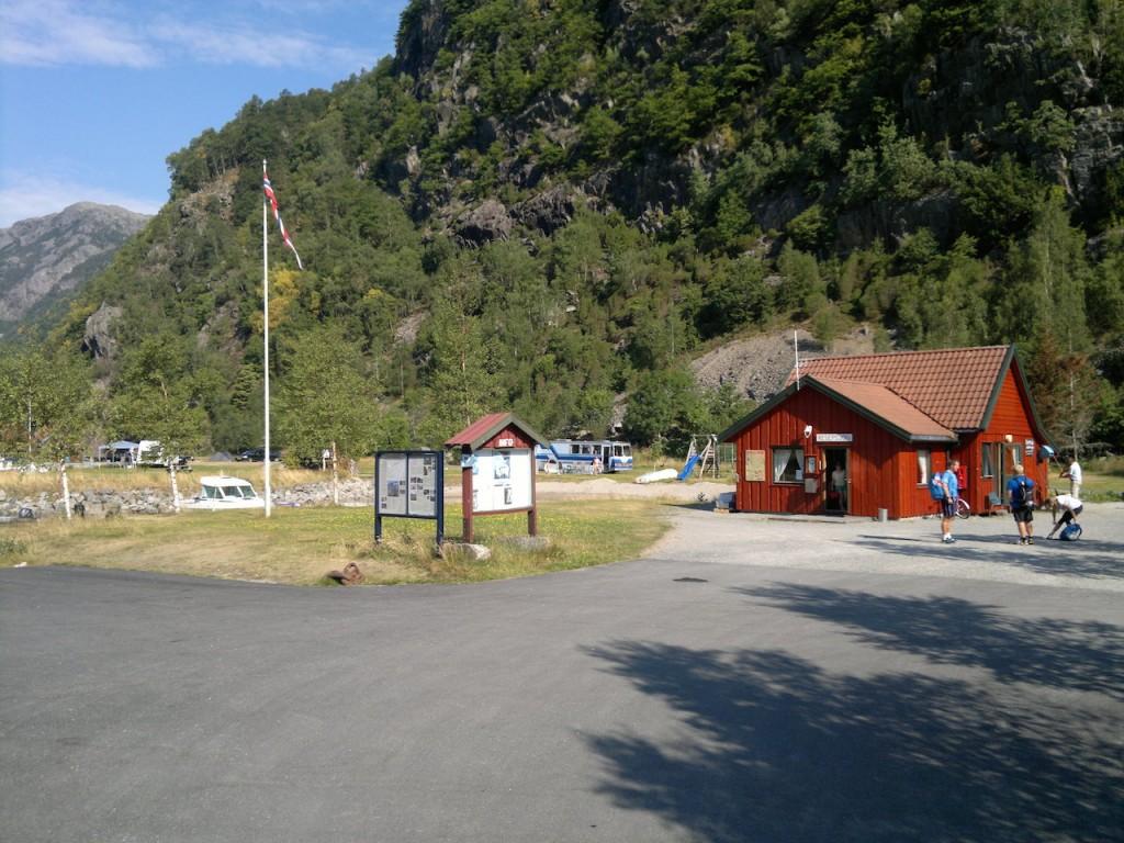 Campingplassen i Frafjord