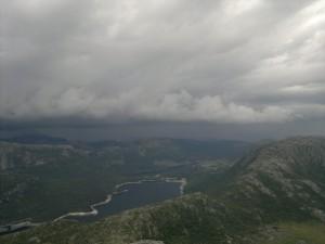 Torden på vei mot oss