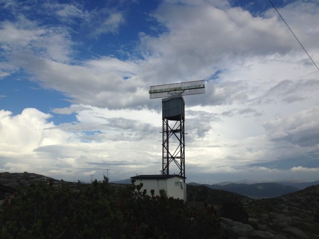 Radar på toppen