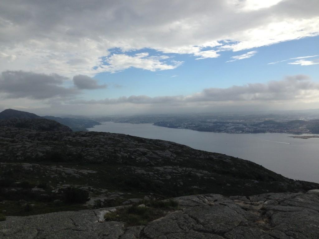 Sandnes i enden av fjorden