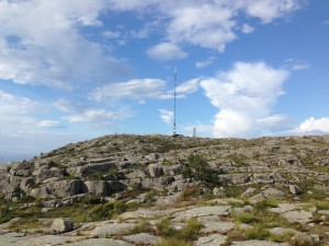 Mast og radar
