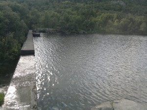 Dammen i Dalevann