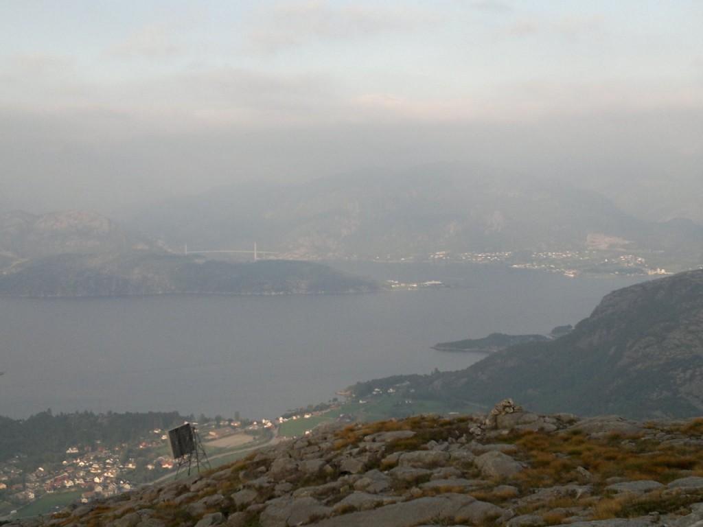Forsand og Lysefjordbrua