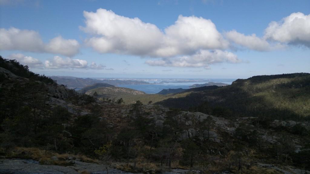 Utsikt mot Stavanger