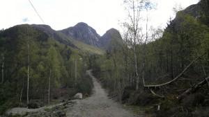 Denne veien følger du