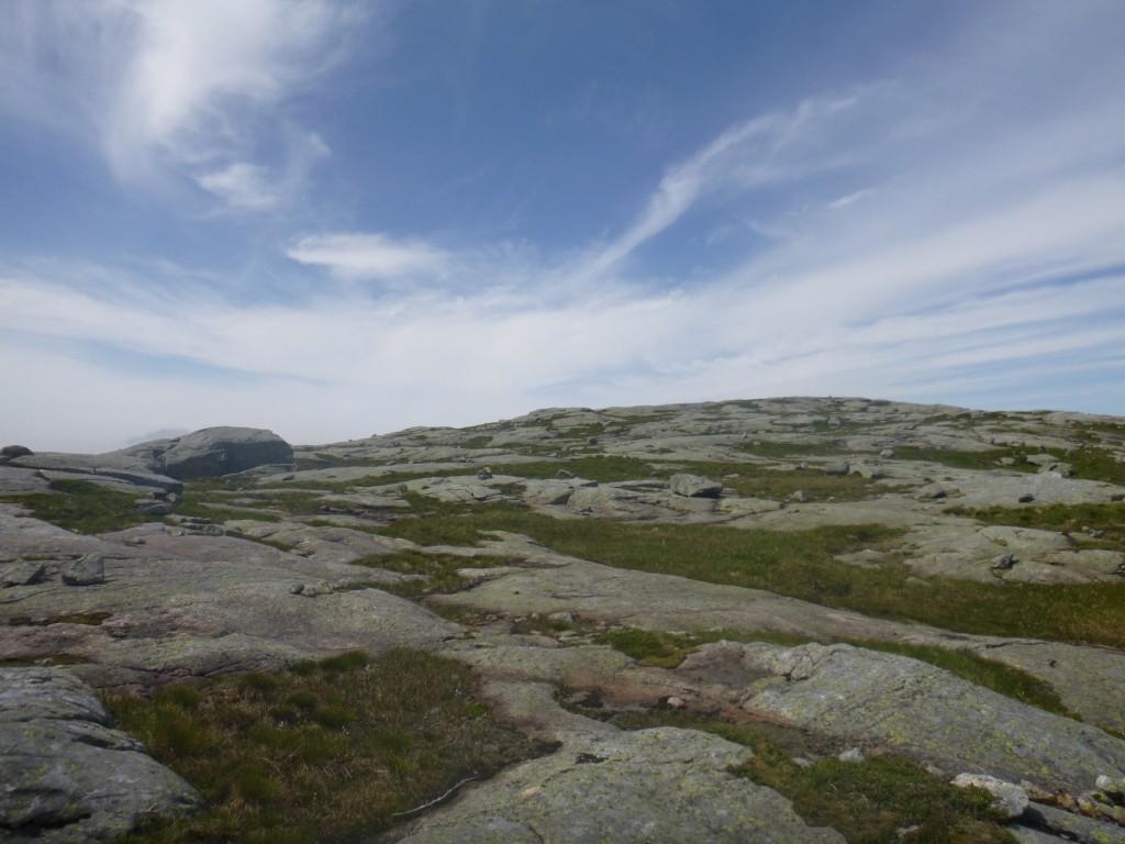 Turens høyeste punkt er på godt over 700 meter