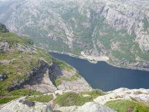 Utsikt fra Ryglå