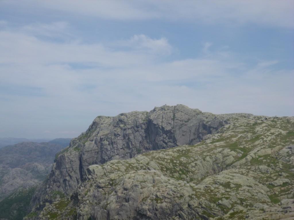 Utsikt fra Gyaaksla og over til Ryglå