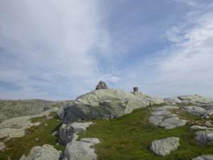 Toppen på Gyaaksla