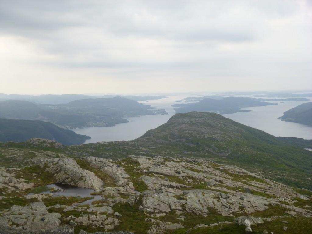 Utsikt fra Gunlanuten