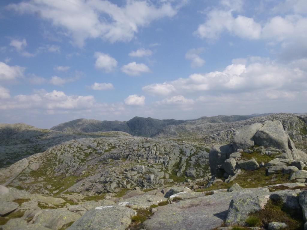 Innover fjellene