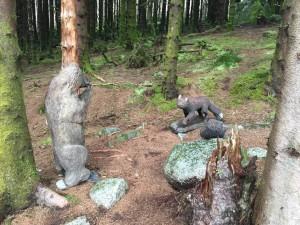 Bjørn og rev for eksempel