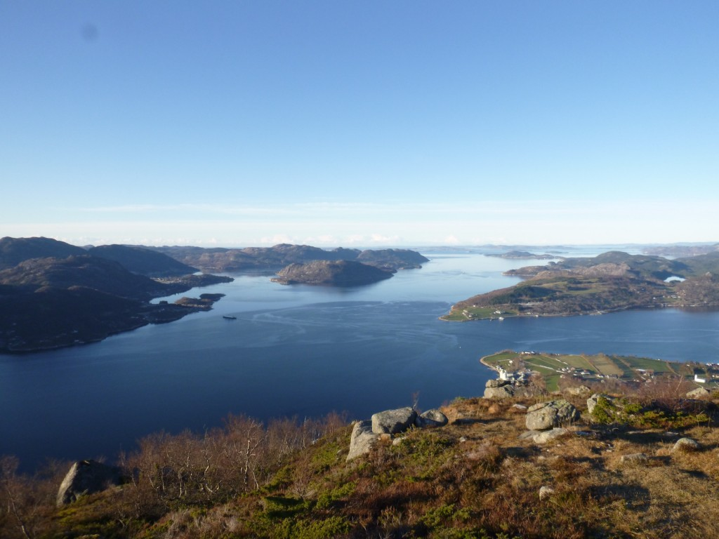 Ut mot Boknafjorden