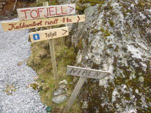 Turstart som til Tofjell