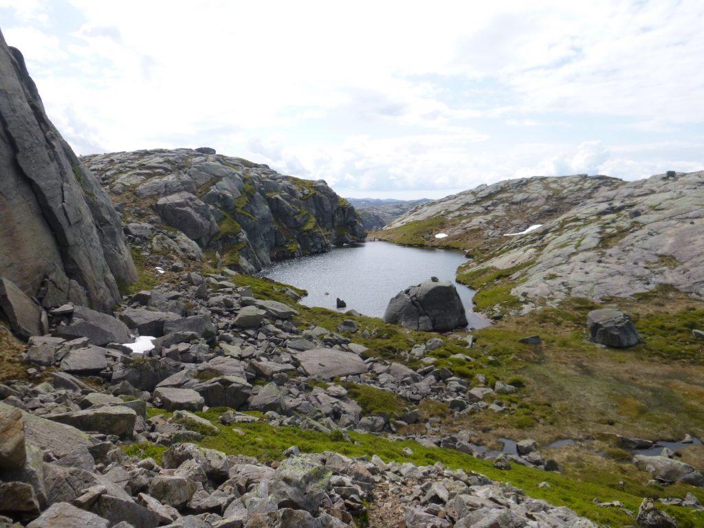 Et av flere badevann