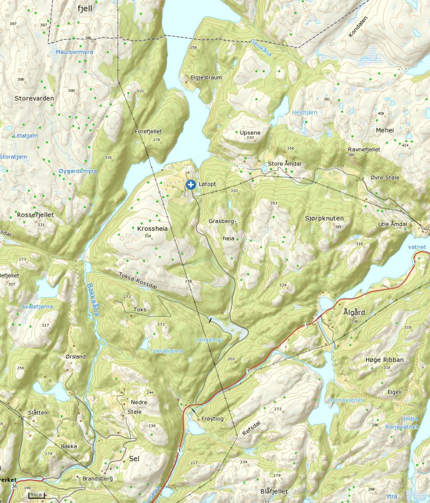 Klikk på kart for større visning