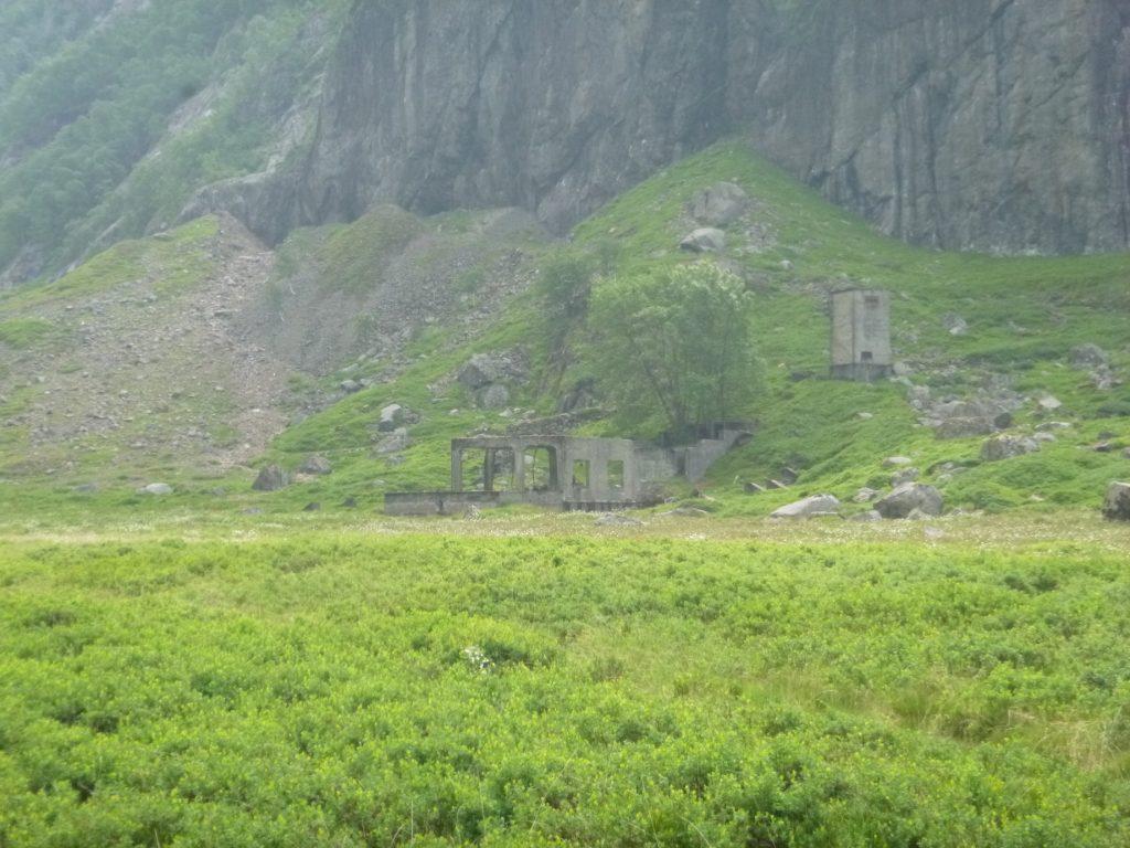 I bakgrunnen der ligger gruvene i Ørsdalen