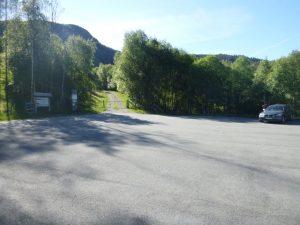 Parkeringen på Kleivaland