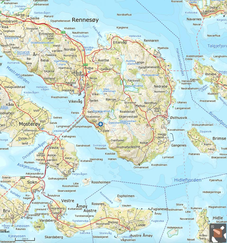 Klikk på kartet for mer detaljert visning