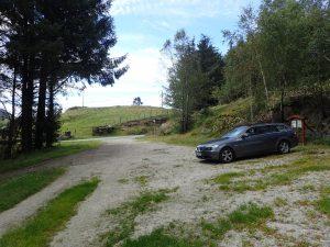 God parkering på Kløgetvedt
