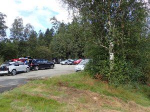 Populær parkering her oppe
