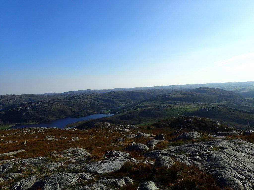 Utsikt fra Bursfjell