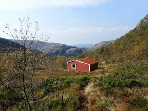 Gamle Skåpet hytta