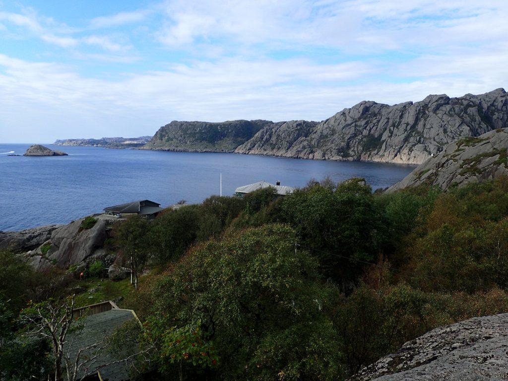 Ved innseilingen til Jøssingfjord